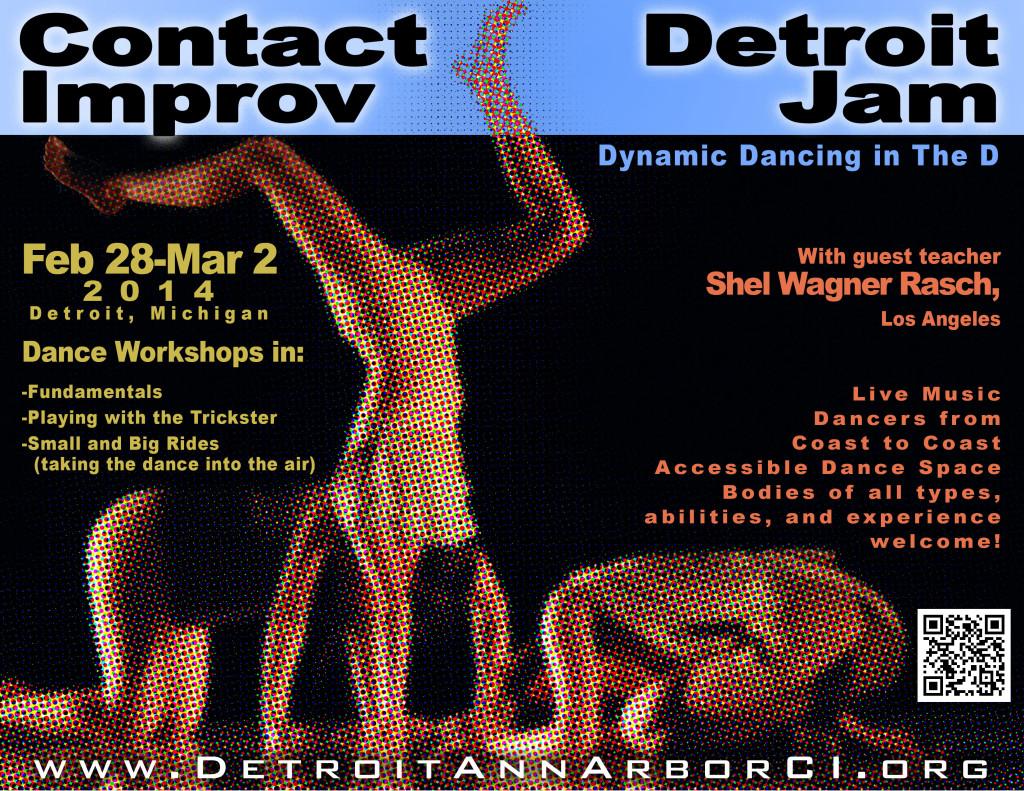 2014 flyer - Detroit Jam wsg Shel Wagner Rasch